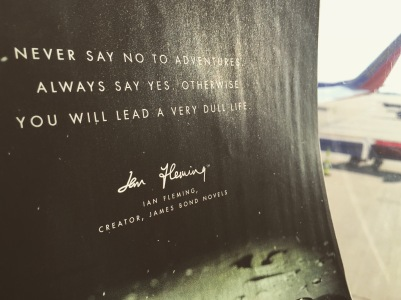 Ian Fleming quote