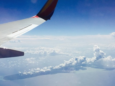 Flying to Jamaica ..