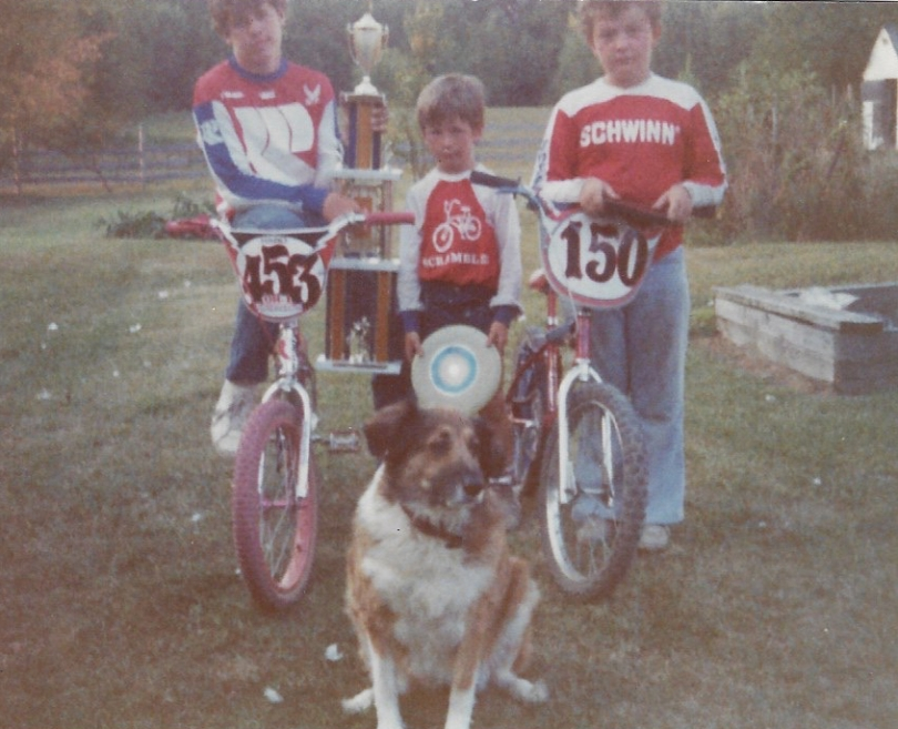 BMX kids Monte Taylor Barry
